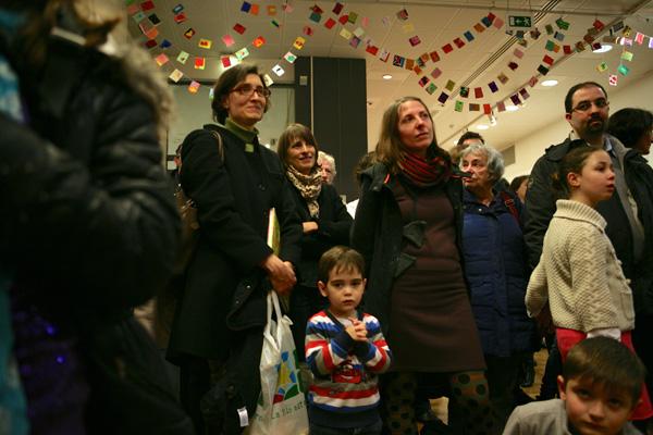 De nombreux parents étaient présents au vernissage.