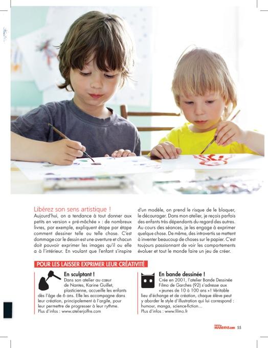 Page 3/ Parole de mamans