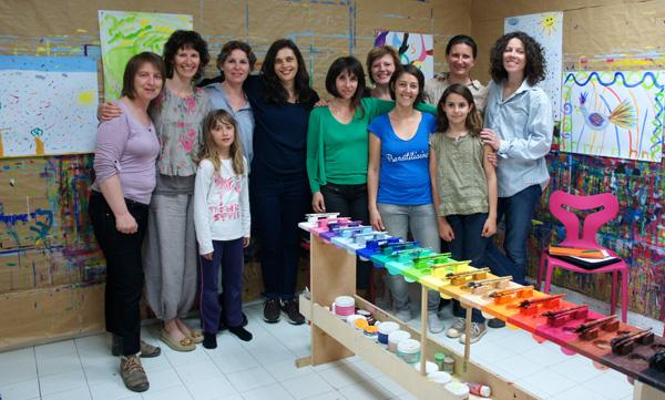 Ma formation pour les stagiaires de l'école d'Isabelle Filliozat à l'atelier Kid and Sens (Aix-en-Provence).