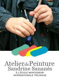Partenariat Sandrine Sananès et l'école Montessori
