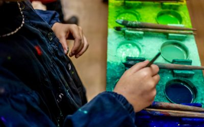 Nos stages de peinture libre de Noël du 19 au 30 décembre