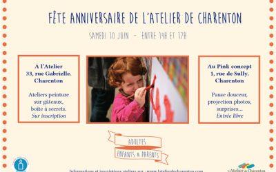 La fête anniversaire de l'Atelier de Charenton