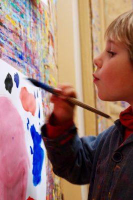 Formation Le Geste de peindre