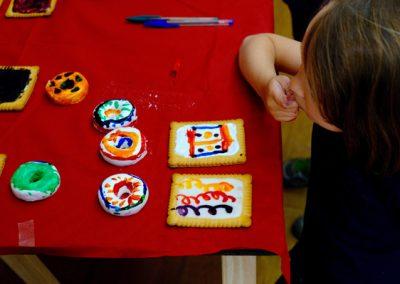 Ateliers peinture sur gâteaux