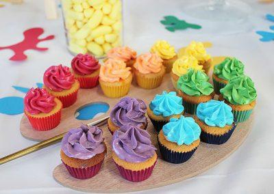 rohhh, les cupcakes - pointe de peinture