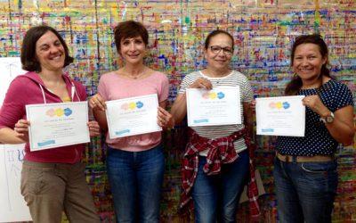Formation le geste de peindre : nos heureuses diplômées