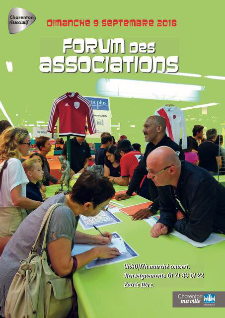 Charenton : forum des associations 2018