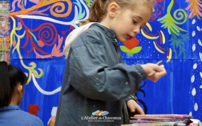 Activité enfant: quand reprennent les cours de peinture ?