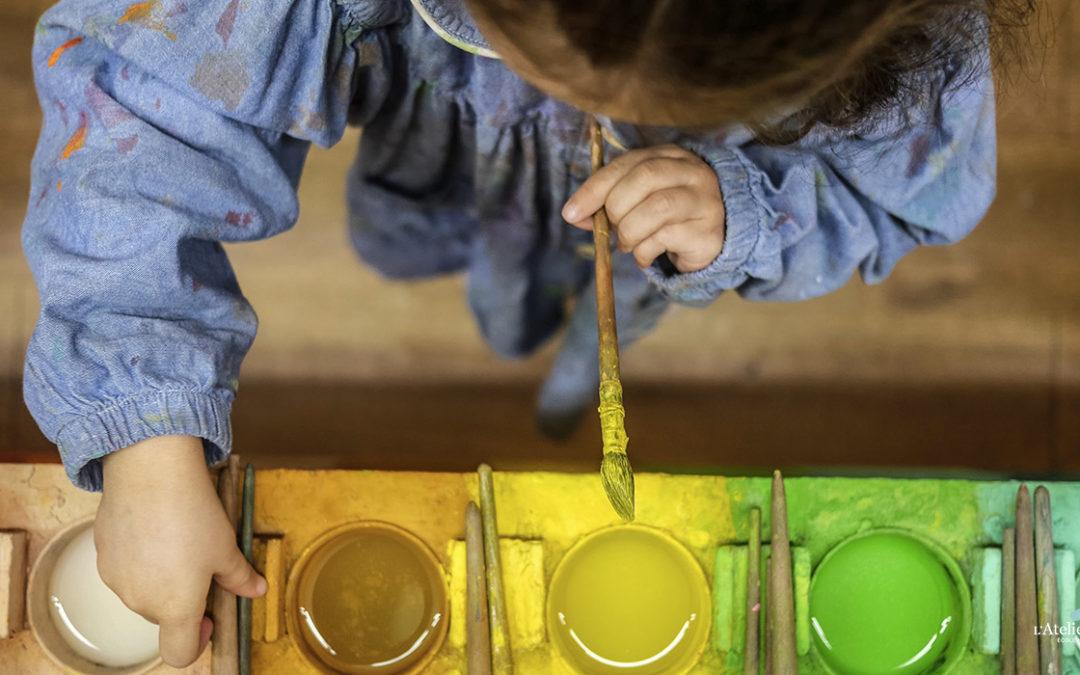 Vacances de Pâques : stages de peinture enfant