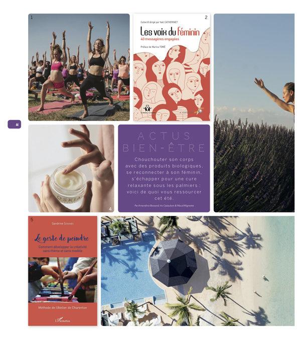 Presse nationale pour le livre « Le geste de peindre»